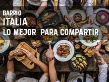 Barrio Italia: Lo mejor  para compartir