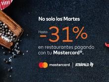 Teriyaki con hasta -31% pagando con Mastercard