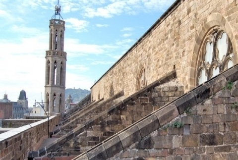 Catedral del Mar con visita a la azotea opcional