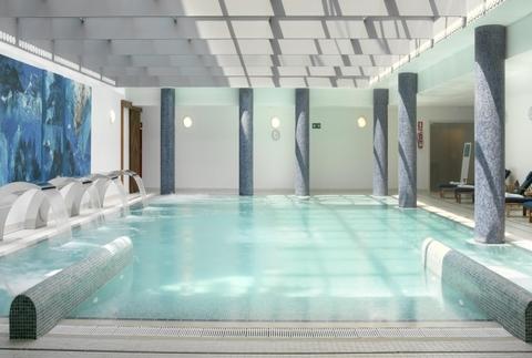 Circuito termal en el Spa de un hotel balneario