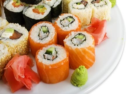 Taller de sushi, cocina oriental