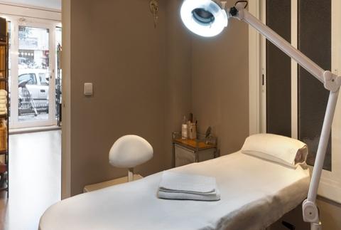 Higiene facial con masaje Shiatsu craneofacial