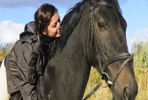 Paseo a caballo en la Sierra de Madrid