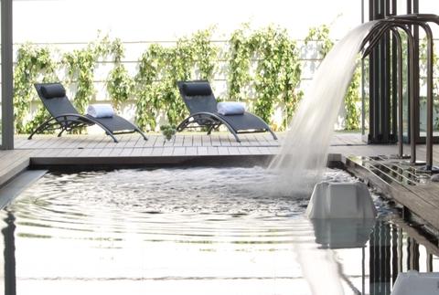 Spa & Terraza en Spa Zenter Madrid NH Las Tablas