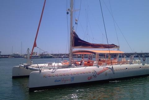Salidas en catamarán