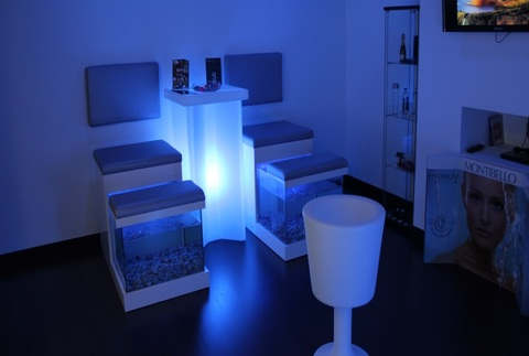 Fish pedicure gourmet y relax