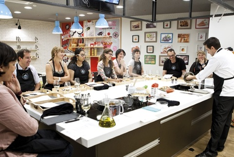 Talleres de cocina para regalar by Chef Caprabo