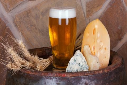 Cata de cervezas artesanas y degustación de quesos