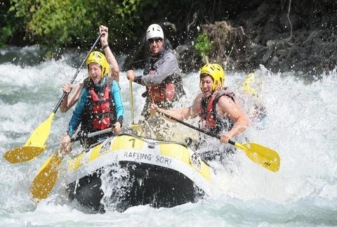 Rafting Llavorsí-Sort, recorrido de 18 km
