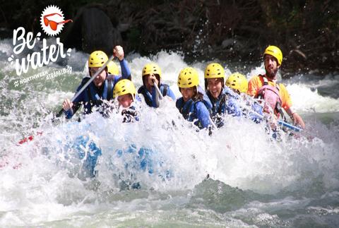 #BeWater: rafting de Llavorsí a Sort