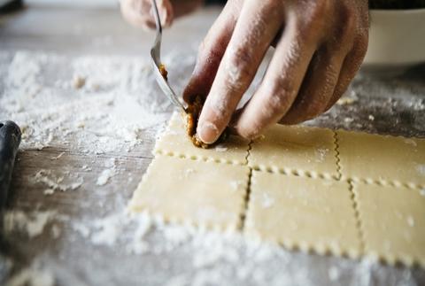 Curso de pasta fresca con degustación