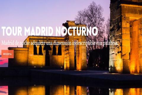 Tour Madrid Nocturno