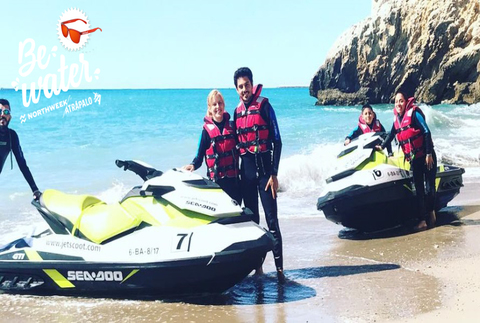 Vive la adrenalina sobre una moto de agua