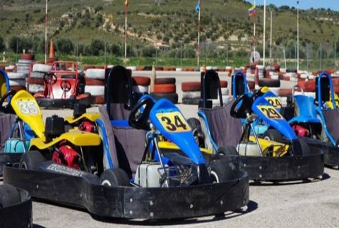 Karting con opción a burger o barbacoa en Circuito Montoya