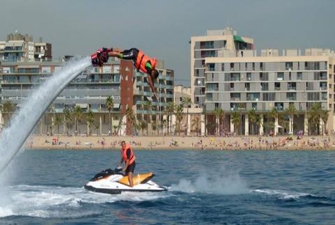 Flyboard: ¡vuela sobre el mar!