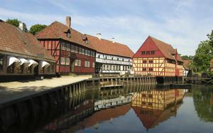 Canales en Aarhus