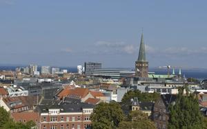 Panorámica de Aarhus