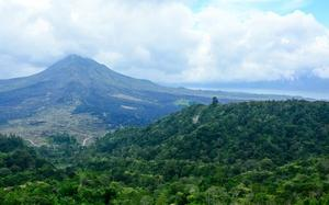 Volcán Batur en Kintamani