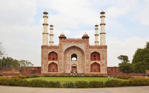 Exterior de la Tumba de Akbar