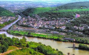 Vista panorámica de Rüdesheim