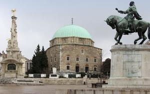Plaza principal de Pécs