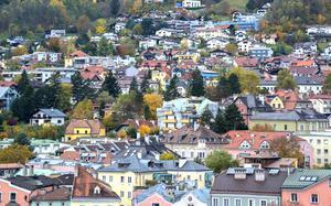 Vista aérea de Innsbruck