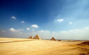 Pirámides en Giza