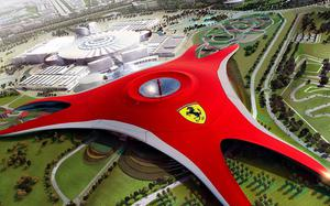 Yas Island Ferrari