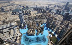 Vista aérea Dubai