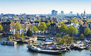 Panorámica de Ámsterdam