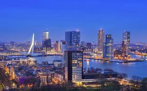 Panorámica de Rotterdam