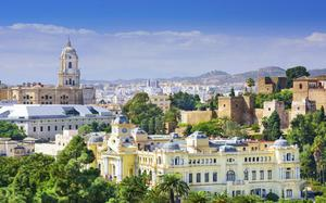 Panorámica de Málaga 2