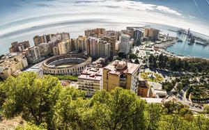 Panorámica de Málaga 3