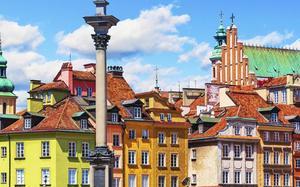 Fachadas de colores en Old Town