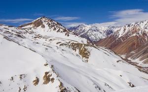 Panorama nevado
