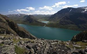 Cadena montañosa de Jotunheimen, Noruega.