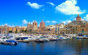 Malta puerto vistas