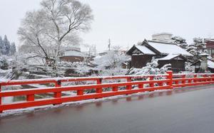 Puente Nakabashi en Takayama