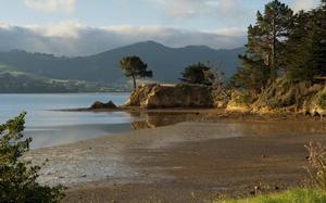 Típico panorama de verano en Dunedin
