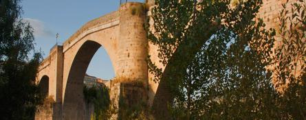 Detalle del pórtico de la Catedral de Ourense