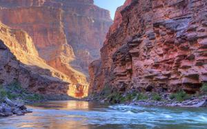 La profundidad del Grand Canyon