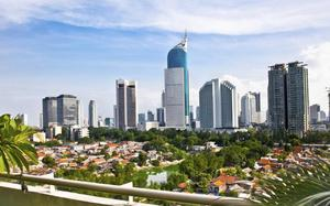 Skyline de Jakarta