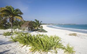 Playa de la península de Yucatán