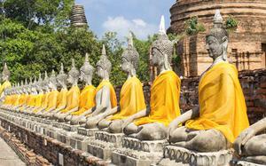 Budas en Templo