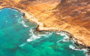 Playa Santa María aérea