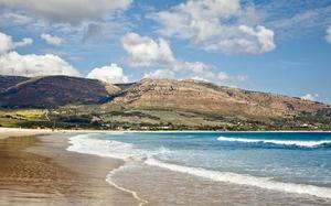 Playa y vistas de Tarifa