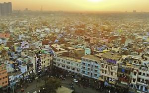 Delhi desde Jama Masjid
