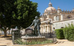 Estatua en Jerez