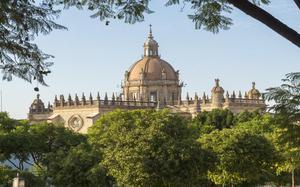 Vista de la Catedral de Jerez