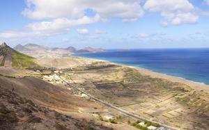 Vista aérea de Porto Santo